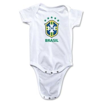 2014 Kid Soccer Wear Brazil Onesie