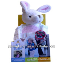Backpack, Kid Keeper, Plush Rabbit Safety Harness Buddy