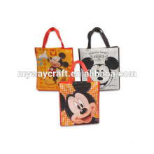 colorful durable cartoon pattern pp non woven bag