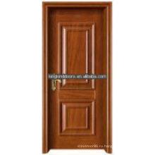 Передачу тепла стали древесины интерьер дверь Кинг-01 с рамкой