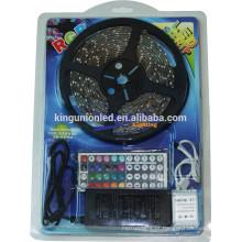 Novo pacote LED Strip Light com bolha, SMD5050 / 3528