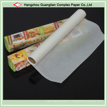 Rouleaux de papier de cuisson en silicone à double face