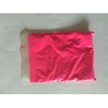 Polvo de pigmento fotoluminiscente con color rosa