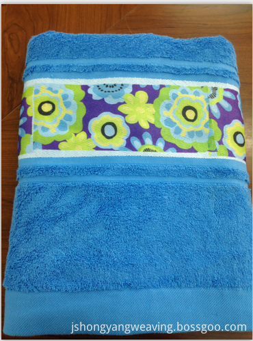 Flower Sublimation Bath Towel