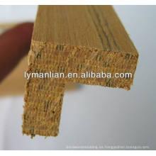 Esquina de diseño Dubai moldura de madera