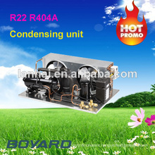 small refrigeration units carrier hvac condensing units with R404A horizontal refrigeration compressor