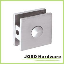 El Brasil diseñó la abrazadera de cristal de la ducha del arreglo sólido (PT308)