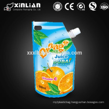 Juice packing bag,liquid spout bag,water spout bag