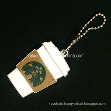 Custom Starbucks Keychain for Promotion
