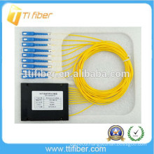 1X8 SC/UPC SM PLC optical fiber splitter