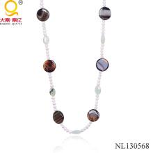 Collier de bijoux de mode collier de perles de 2014