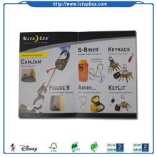 Kundenspezifische CMYK Druckförderung Broschüre
