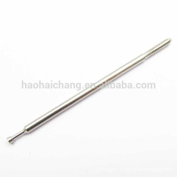 Appareil de chauffage électrique en acier inoxydable rond terminal pin