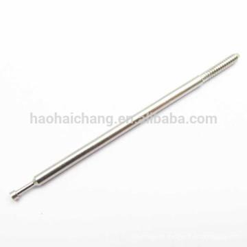 Pino terminal redondo de aço inoxidável do dispositivo de aquecimento elétrico