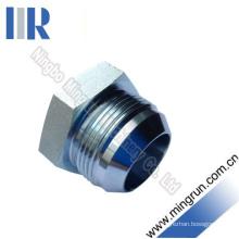 Jic Male 74 Cone Plug Hydraulic Plug (4J)