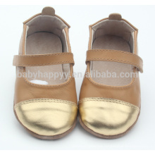 Non-slip sole children dance shoes fashion leather shoes