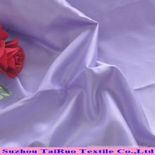 Fabricación de tela de satén estándar de Oeko-Tex Standard para el vestido de boda