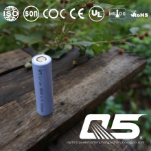 3.7V1200mAh, Lithium Battery, Li-ion 18650, Cylindrical, Rechargeable