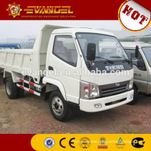10 wheel dump trucks for sale High quality T-king dump truck with crane on sale