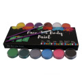 Dicuci Cahaya UV Neon Flag Edible Face Paint