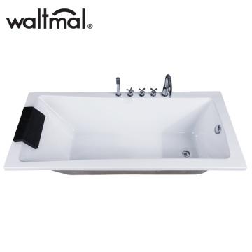 High Quality Simple Drop-in Bathtub (WTM-02820D)