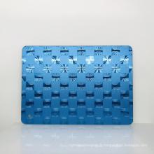 Feuille de miroir de fantaisie en plastique acrylique épais de miroir de 1mm