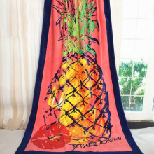 wholesale 800gsm fruit beach towels with bag