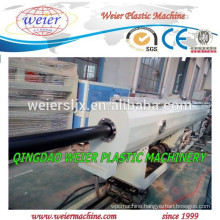 plastic HDPE PP water pipe extruder machine line