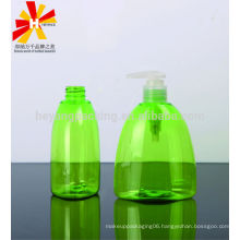 300ml triangle PET empty hand wash plastic bottles