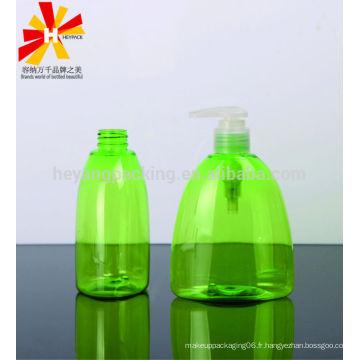 300 ml triangle PET bouteilles en plastique à vide