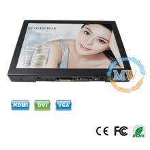 16:10 alta resolução 1280x800 monitor lcd, tela plana slim 10,1 hdmi monitor