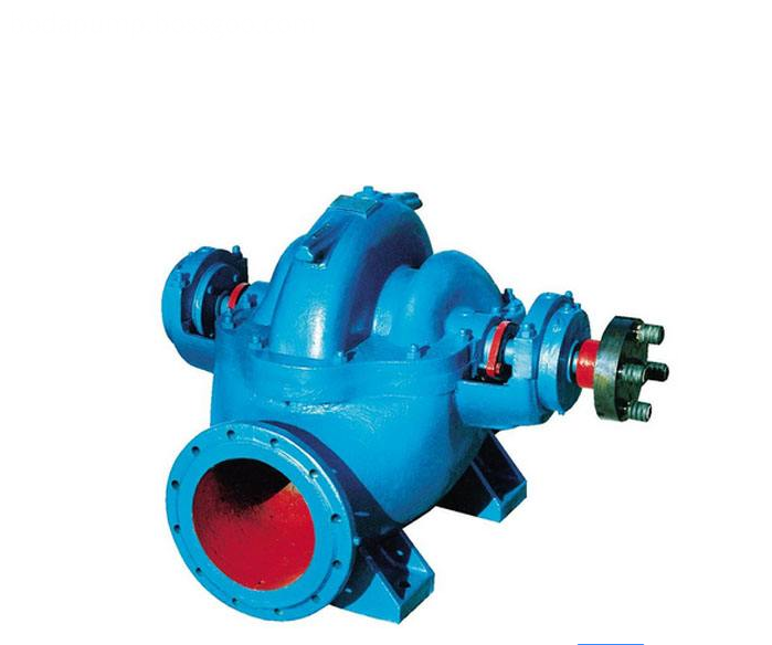 S type single stage double suction centrifugal pump 1