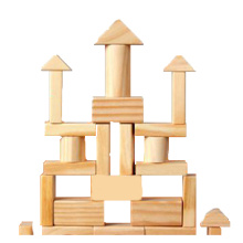 Educational 100pcs Original Building Blocks Wooden Toy
