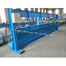 6m hydraulische Stahlplattenpresse Maschine