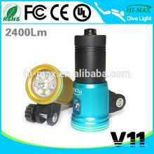 Batterie au lithium Rechargeable Flat Led Flashlight Dive Video Light