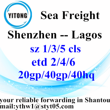 Shenzhen Interantional Logistics Services naar Lagos