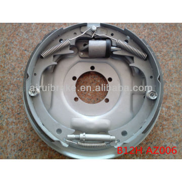 12*2 trailer hydraulic dacromet brake assembly