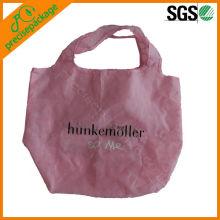 promocional recicl saco de poliéster para fazer compras