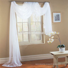 "New Curtains Style For 2016 Hot Sale Fashion Solid Sheer Voile Curtain - Rod Pocket - White - 58""w x 84""l"