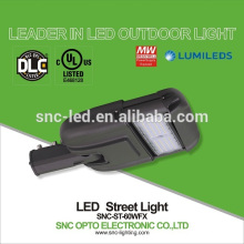 60w led street light with photocell, outdoor led led street lamp, ul 60 watt street light led
