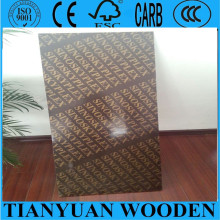 15mm Construction Waterproof Plywood with Brand Logo, Phenolic Plywood From China Factory