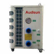 4.3KW Power Portable Pool/Spa Heater, Movable Wheels, Titanium Heat-exchanger, Digital LCD Display