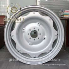 Silver painting 34 inch steel wheel farm tractors parts                                                                         Quality Choice