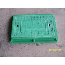 Tampa de poço de inspeção de FRP 330x520 A50 para medidor de água