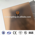 ten years warranty 100% lexan frosted polycarbonate sheet with uv protection
