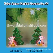 Рождественские свечи ручной работы с статуей обезьяны для украшения дома