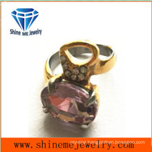 Shineme Jewelry Fashion Jewelry Purple Stone Ring