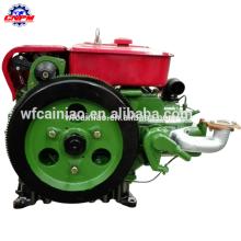 motor diesel de China con poder fuerte y motor de un solo cilindro MOQ de arranque eléctrico pequeño