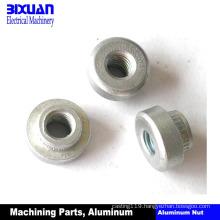 Aluminum Nut CNC Machining Part Aluminum Part Aluminum Turning Parts