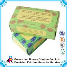 Nach Maß einzigartiges gefaltetes Farbtonpapier, das Minikasten verpackt